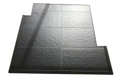 custom ash floor protector